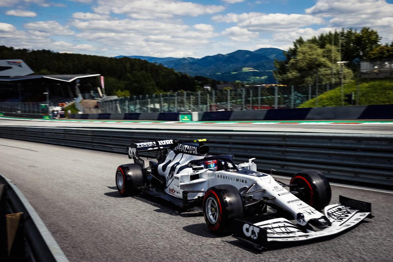 【速報】 F1オーストリアGP 予選Q2 結果:アルファタウリの2台は脱落