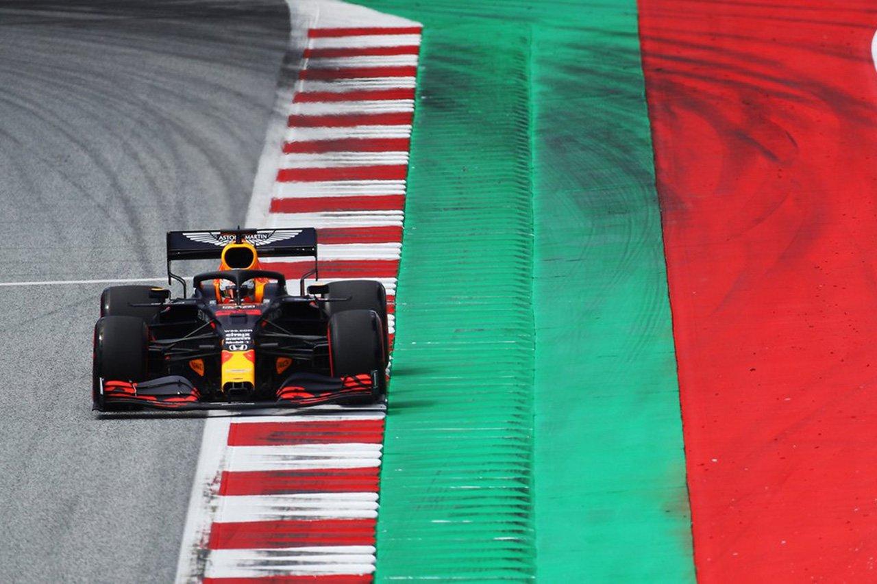 【速報】 F1オーストリアGP 予選結果:フェルスタッペンは3番手