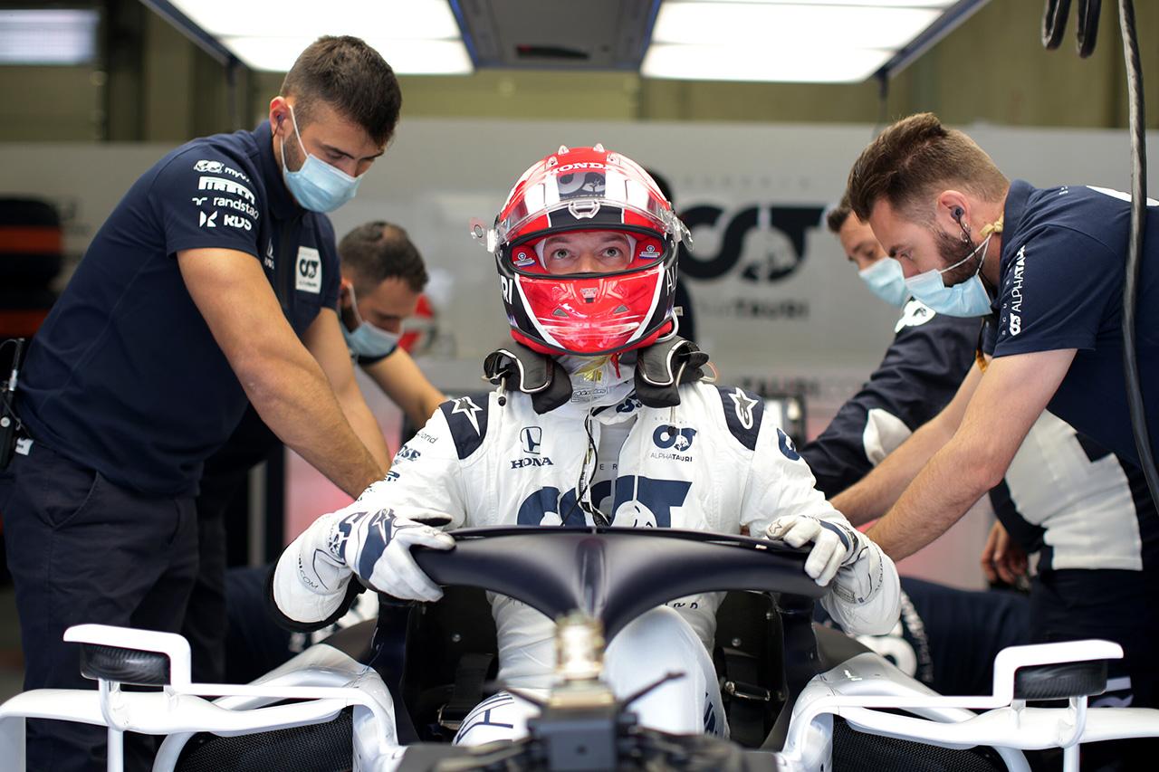 ダニール・クビアト 「明日に向けてマシンの改善点を発見できると思う」 / アルファタウリ・ホンダF1 オーストリアGP初日