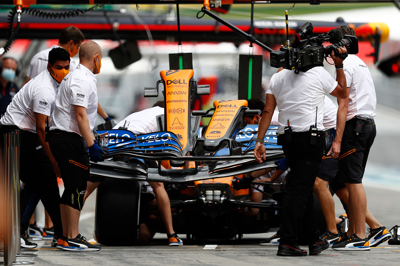 マクラーレンF1 「レーシング・ポイントF1は手の届かないところにいる」