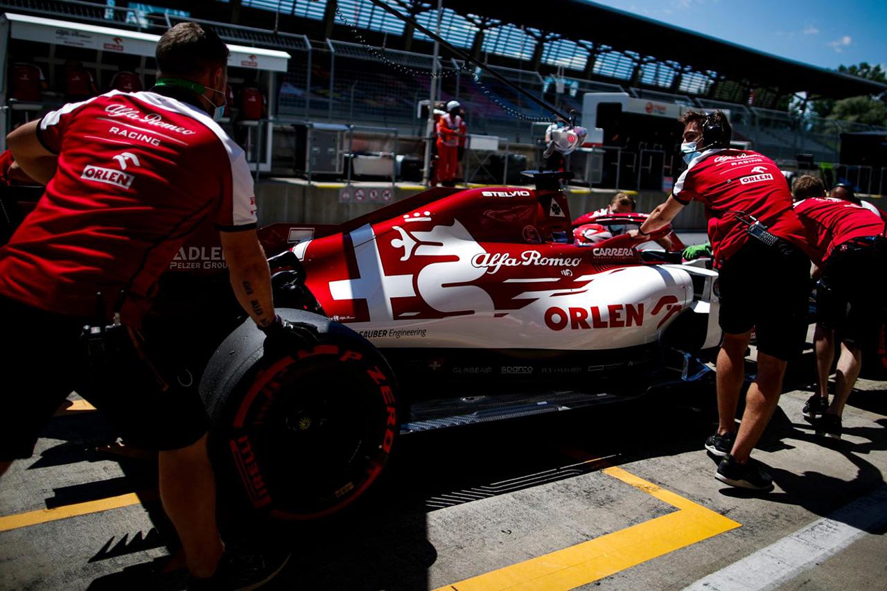 キミ・ライコネン アルファロメオF1 2020年 F1オーストリアGP