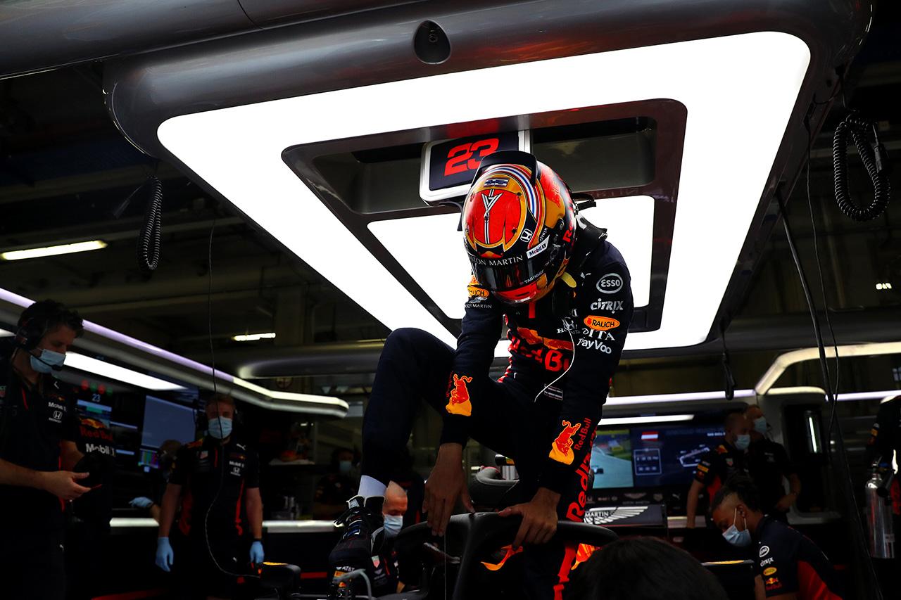 アレクサンダー・アルボン、予選5番手「スリップストリームを使えなかった」 / レッドブル・ホンダF1 オーストリアGP予選
