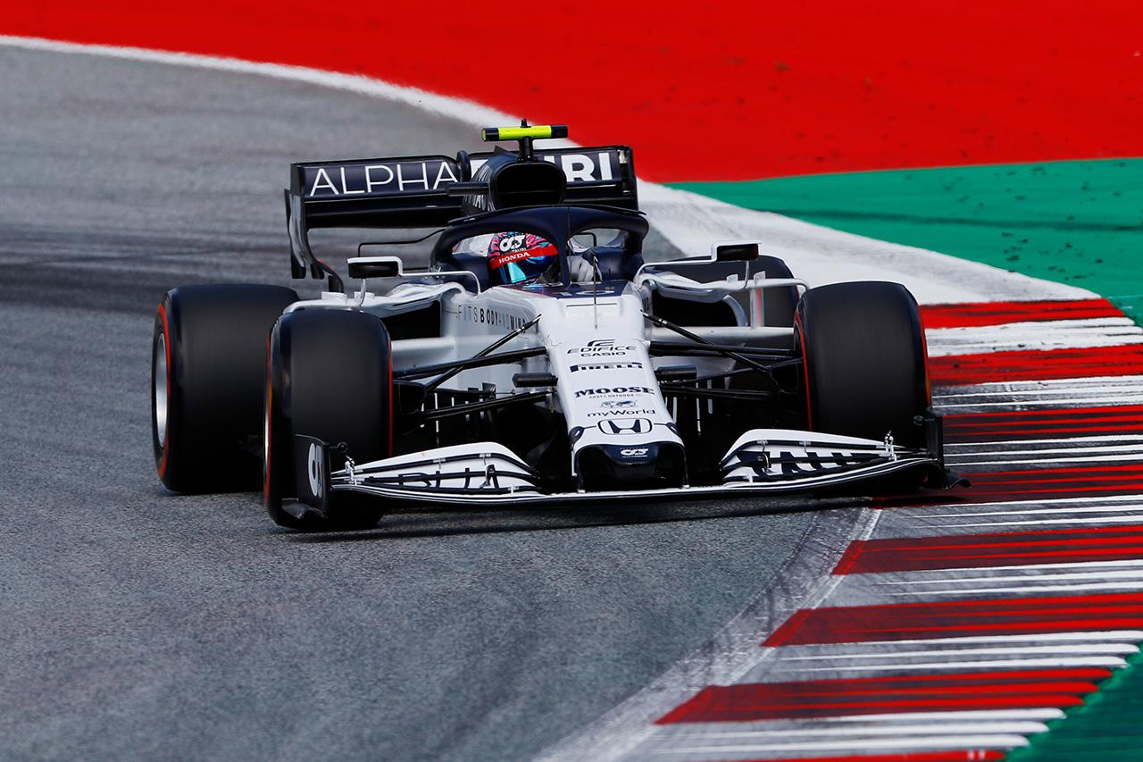 アルファタウリ・ホンダF1 「夜通しのセットアップ変更が奏功した」 / F1オーストリアGP予選