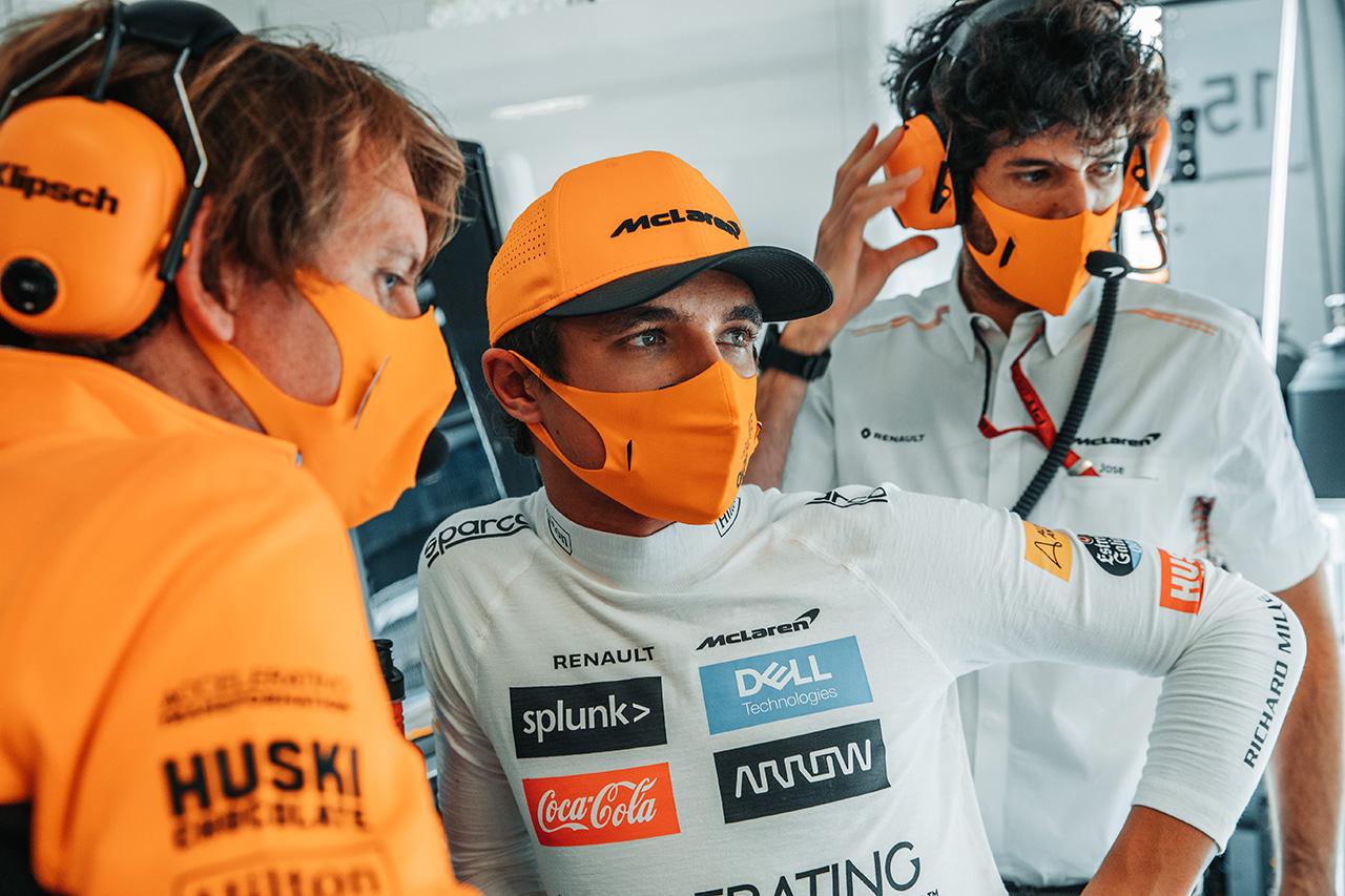 伏兵ランド・ノリス、自らも驚きのキャリアベストの予選4番手 / マクラーレンF1 オーストリアGP予選