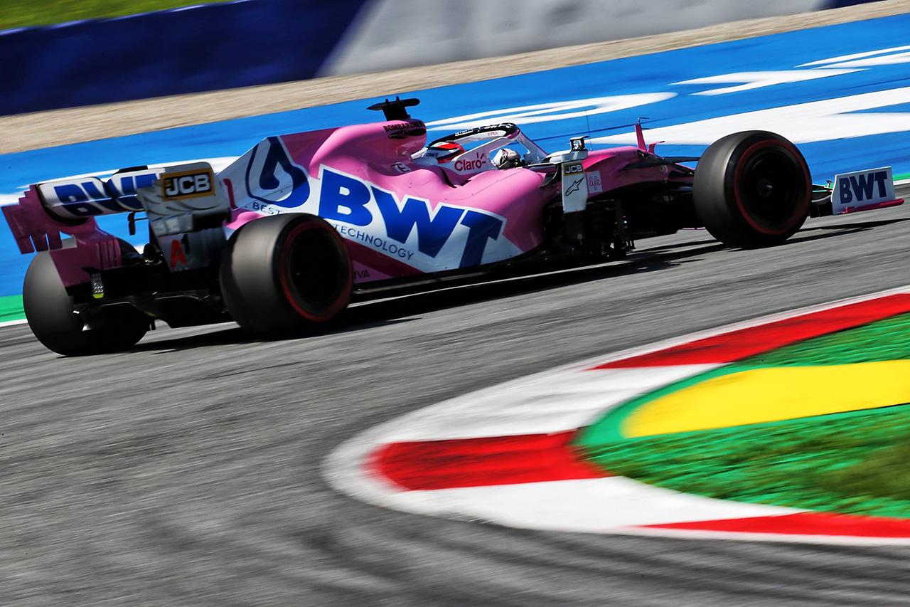 セルジオ・ペレス、アルボンと同タイム6番手「マクラーレンを倒せる」 / レーシング・ポイントF1 オーストリアGP予選