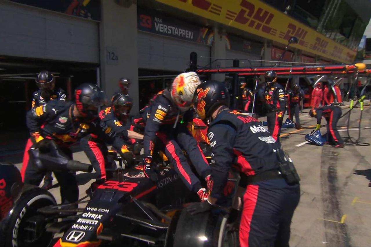 【動画】 マックス・フェルスタッペン、マシントラブルで無念のリタイア / レッドブル・ホンダF1 オーストリアGP