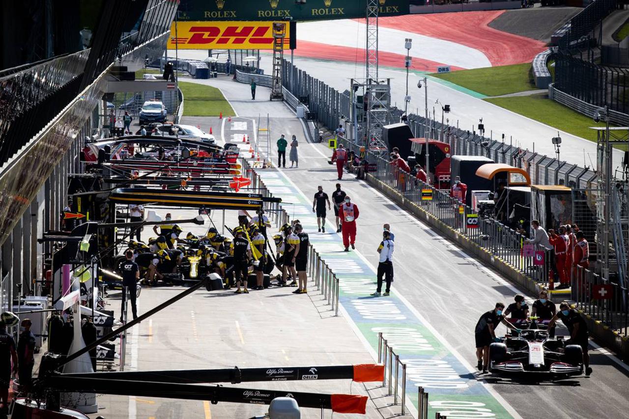 F1オーストリアGP 決勝:各ドライバーの持ちタイヤ数&タイヤ戦略予想