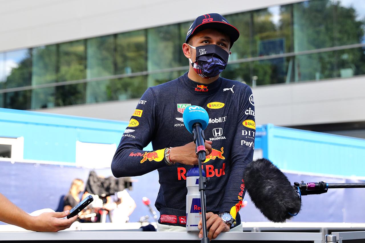 アレクサンダー・アルボン 「今回のクラッシュはハミルトンに非がある」 / レッドブル・ホンダF1 オーストリアGP