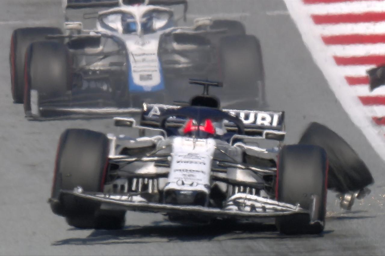 ダニール・クビアト 「オコンとの接触がなければ良いレースになっていた」 / アルファタウリ・ホンダF1 オーストリアGP