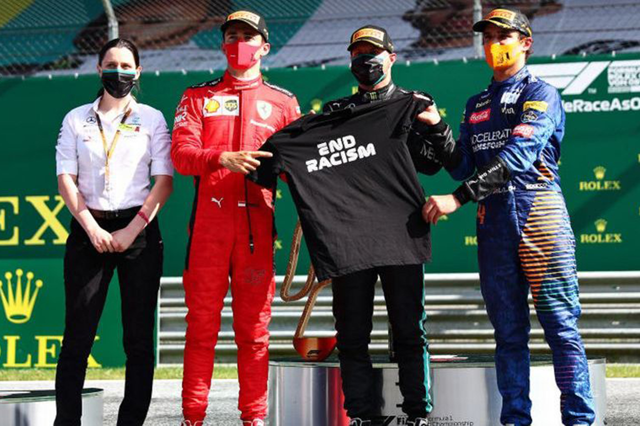 F1オーストリアGP 決勝:完走11台の大波乱。ボッタス優勝、ノリス初表彰台