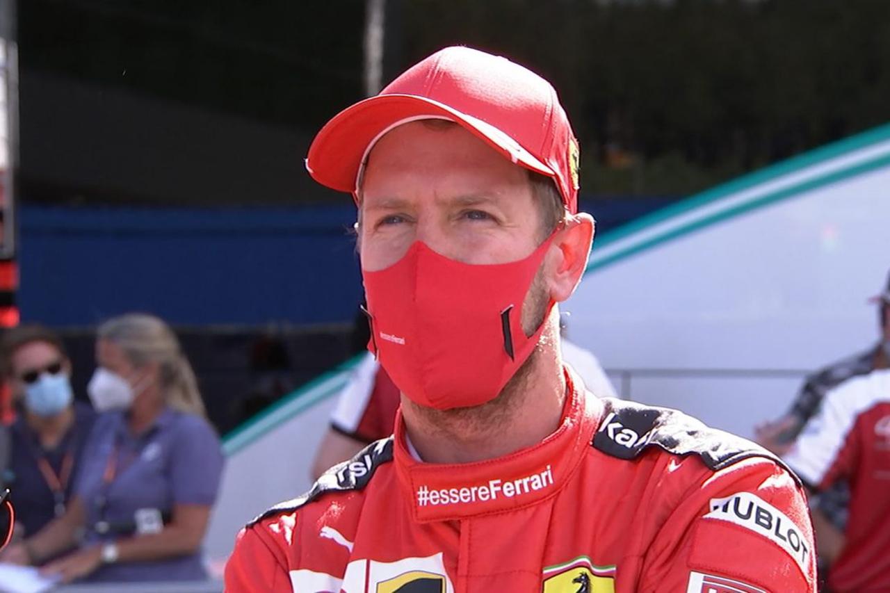 セバスチャン・ベッテル、SF1000に苦戦「1回のスピンだけで済んで満足」 / フェラーリF1 オーストリアGP