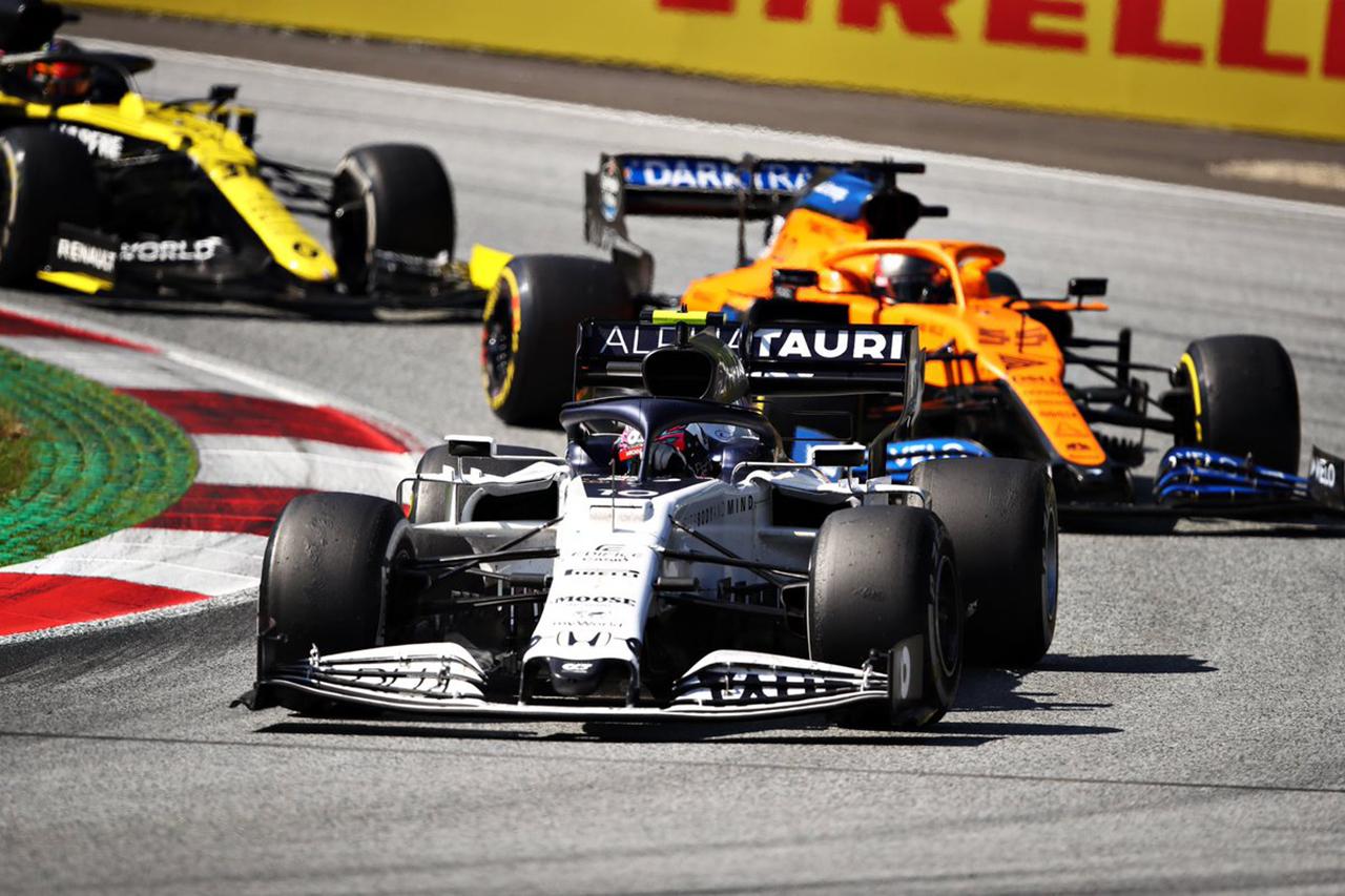 ホンダF1勢、完走は7位入賞のアルファタウリ・ホンダF1のガスリーのみ / F1オーストリアGP 結果