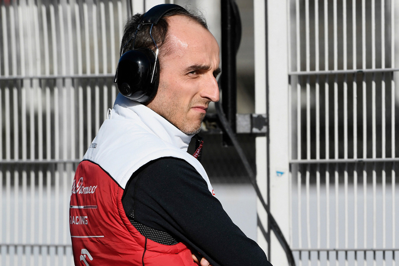ロバート・クビサ、F1シュタイアーマルクGPのFP1に出走 / アルファロメオF1