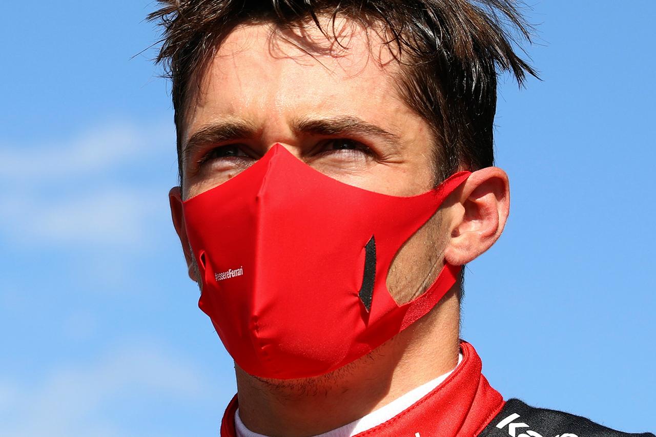 シャルル・ルクレール、F1の新型コロナウイルス行動規範に違反で警告 / フェラーリF1 シュタイアーマルクGP