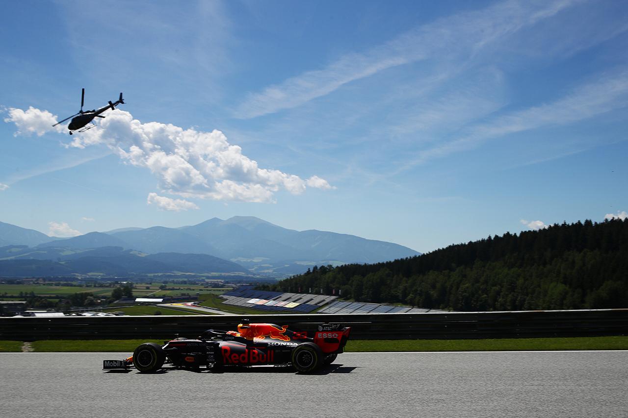 【速報】 F1シュタイアーマルクGP FP1 結果:フェルスタッペンは2番手
