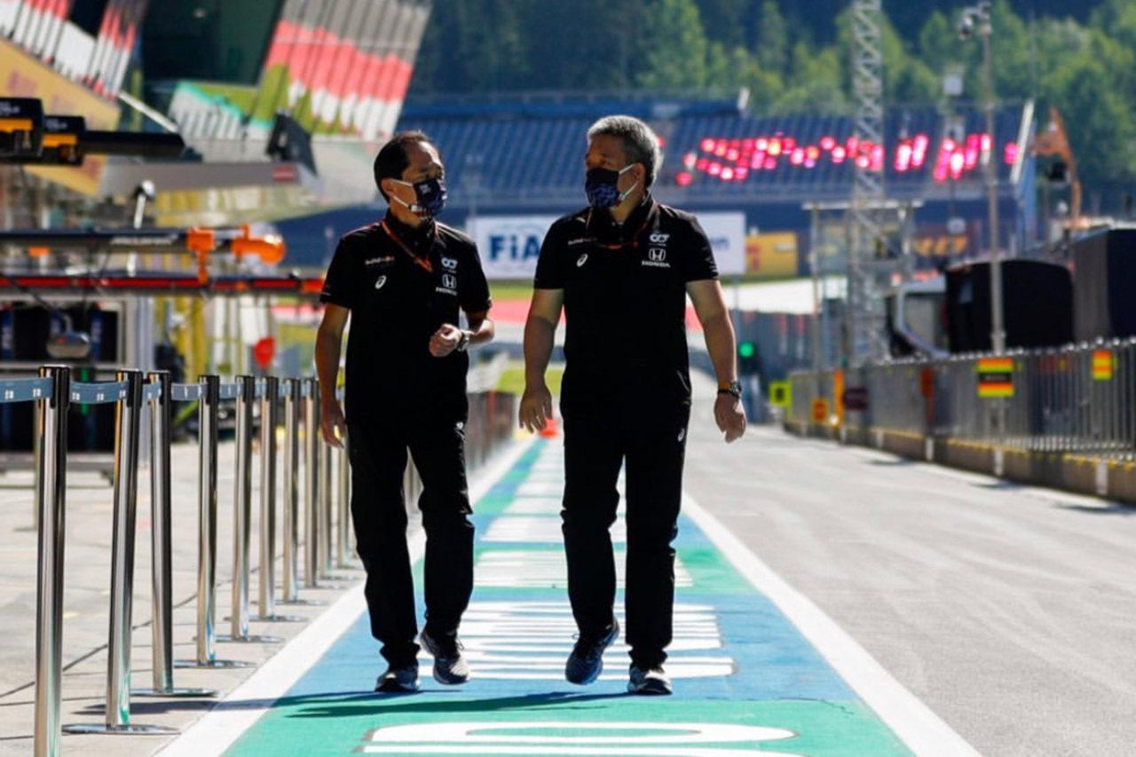 ホンダF1 特集:2020年シーズン開幕戦オーストリアの舞台裏