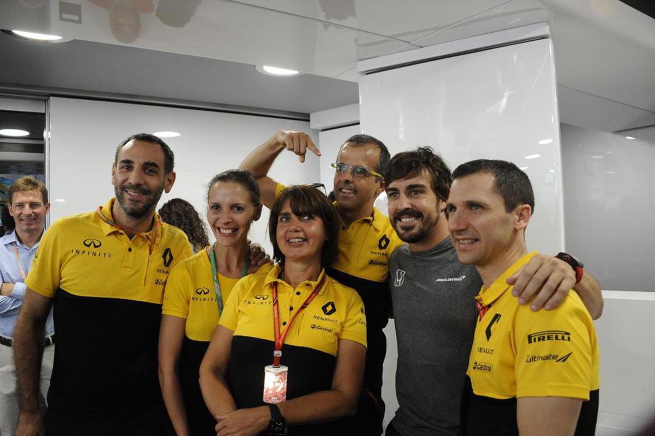 ルノーF1代表 「フェルナンド・アロンソの評判は一応は気にした」