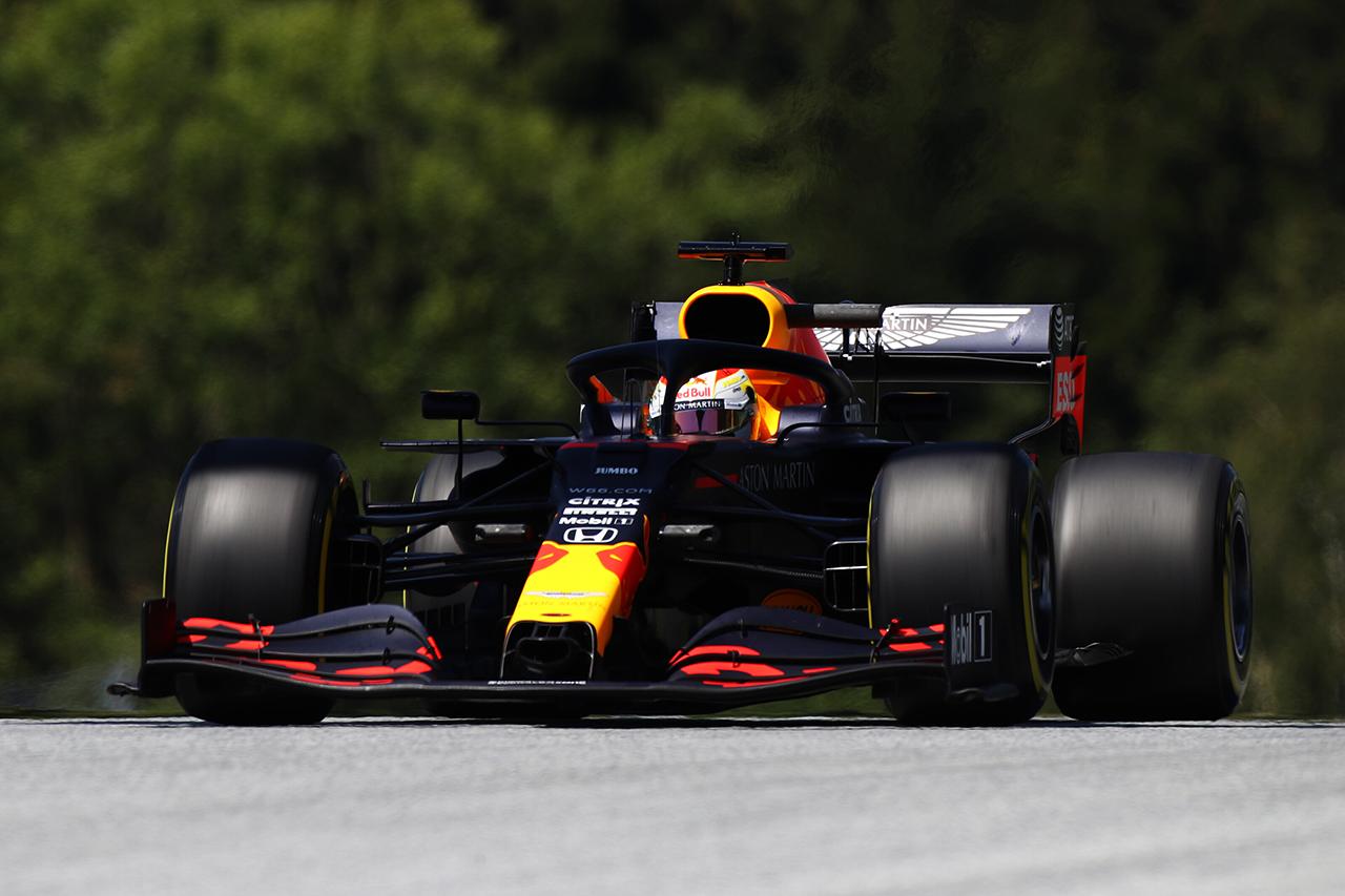 F1シュタイアーマルクGP FP2 結果:マックス・フェルスタッペンが首位。ボッタスが僅差で続く