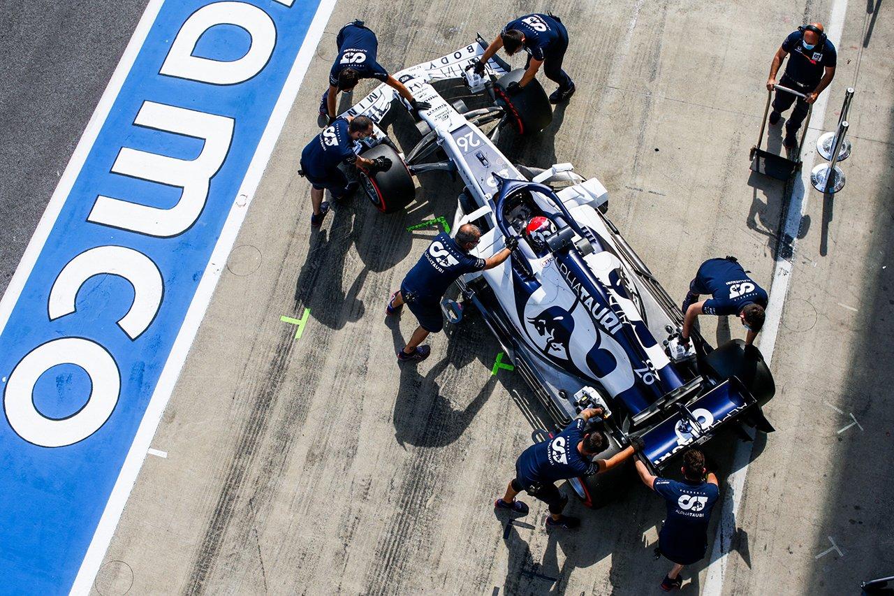 アルファタウリ・ホンダF1 「アップデートは正しい方向に進んでいる」 / F1シュタイアーマルクGP 初日