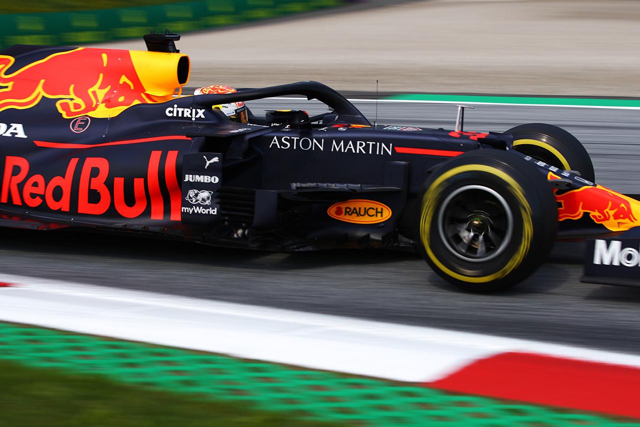 マックス・フェルスタッペン、安全策としてギアボックスを交換 / レッドブル・ホンダ F1シュタイアーマルクGP
