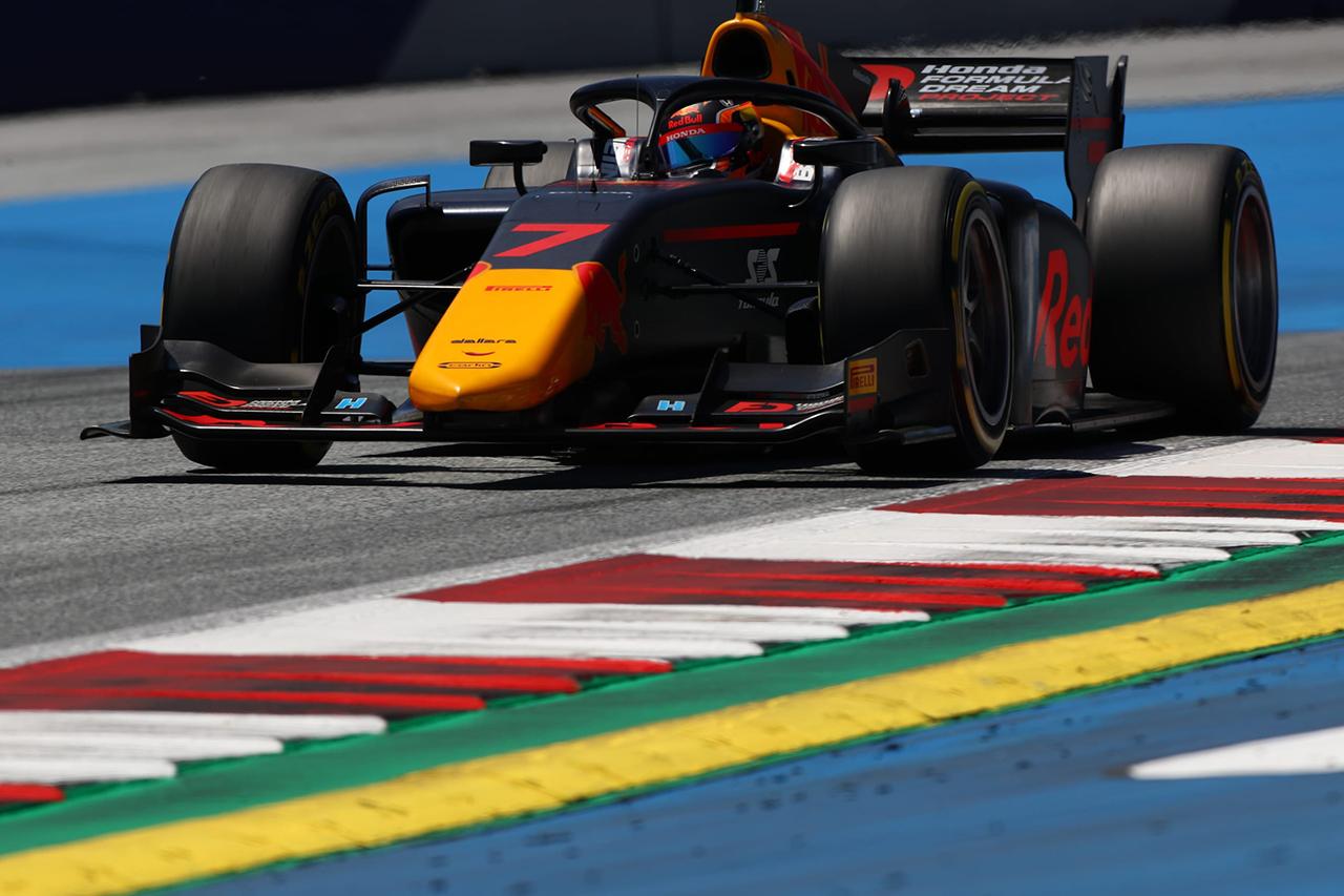 FIA-F2 第2戦オーストリア 予選:角田裕毅がポールポジション獲得!