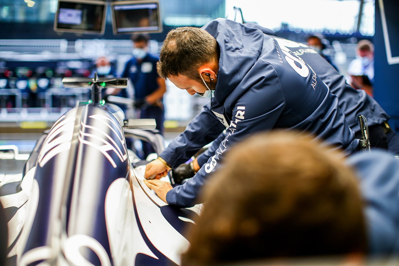 アルファタウリ・ホンダF1 「アップデートは期待通りの効果を届けている」 / F1シュタイアーマルクGP 予選