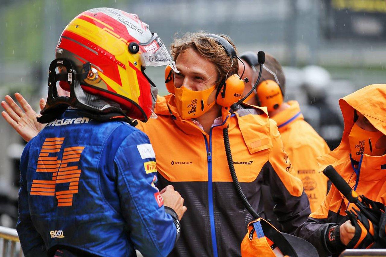 マクラーレンF1のカルロス・サインツ、予選自己ベストの3番手 / F1シュタイアーマルクGP 予選