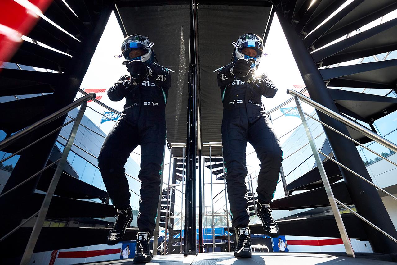 バルテリ・ボッタス 「右フロントのブレーキに問題があった」 / メルセデスF1 シュタイアーマルクGP 予選