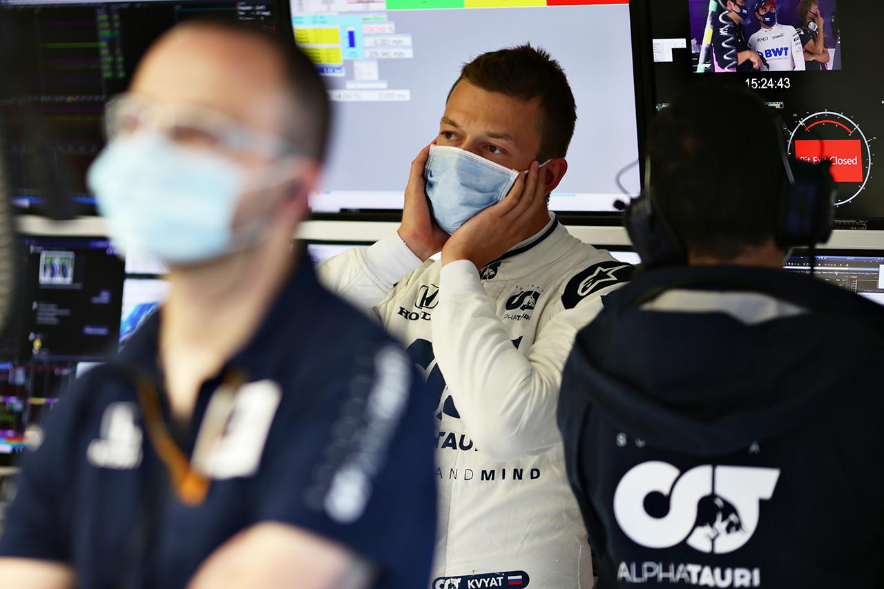 ダニール・クビアト 「考えていたよりもよくない結果。満足していない」 / アルファタウリ・ホンダF1 シュタイアーマルクGP 予選