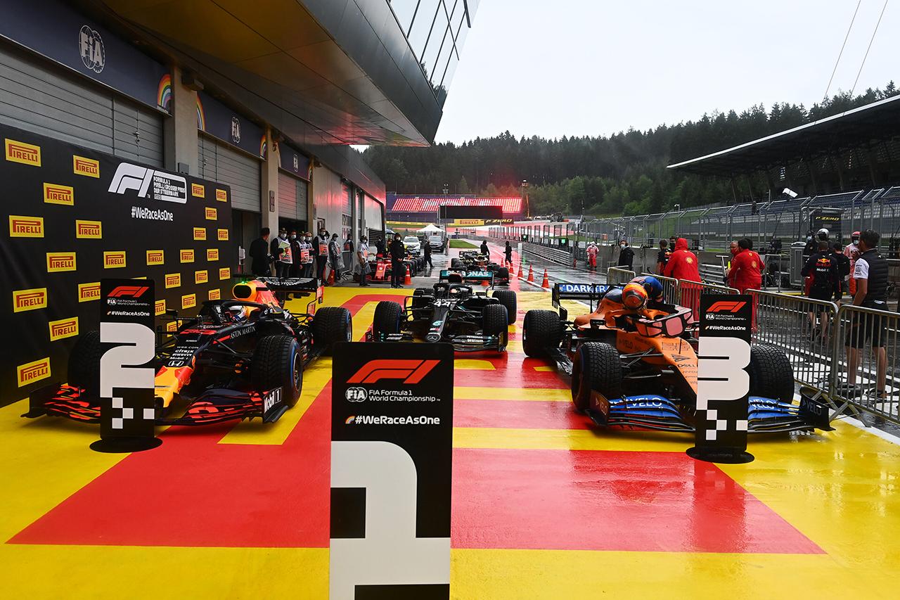 2020年 F1シュタイアーマルクGP 決勝:正式スターティンググリッド