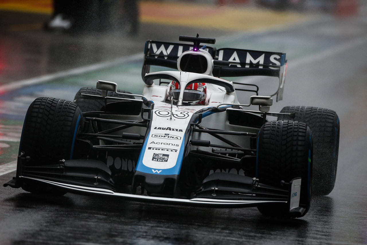 ウィリアムズF1、ジョージ・ラッセルがQ2初進出。チームでは610日ぶり / F1シュタイアーマルクGP 予選