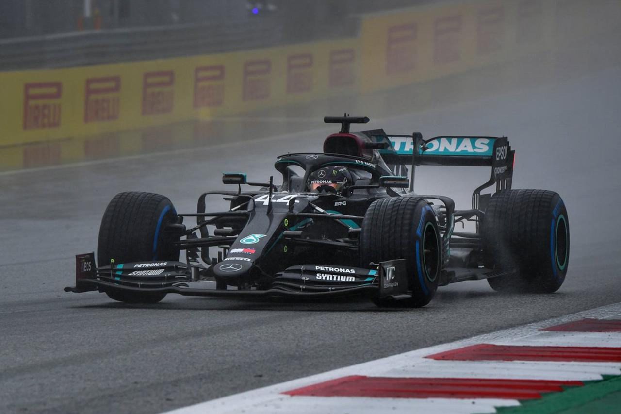F1シュタイアーマルクGP 予選 結果:ハミルトンが圧倒的な差でポール。レッドブル・ホンダのフェルスタッペンが2番手