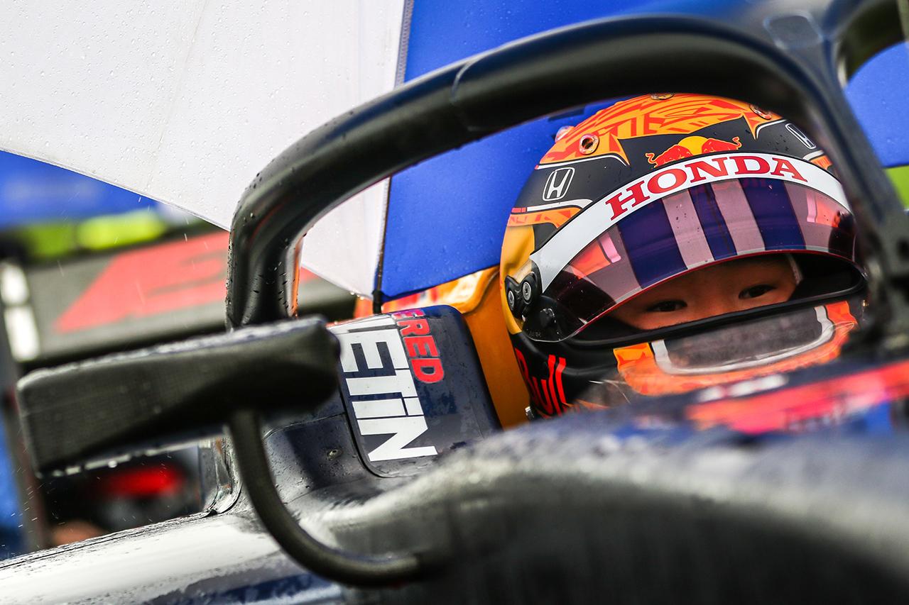 FIA-F2:ホンダF1育成の角田裕毅が参戦2戦目で初表彰台を獲得