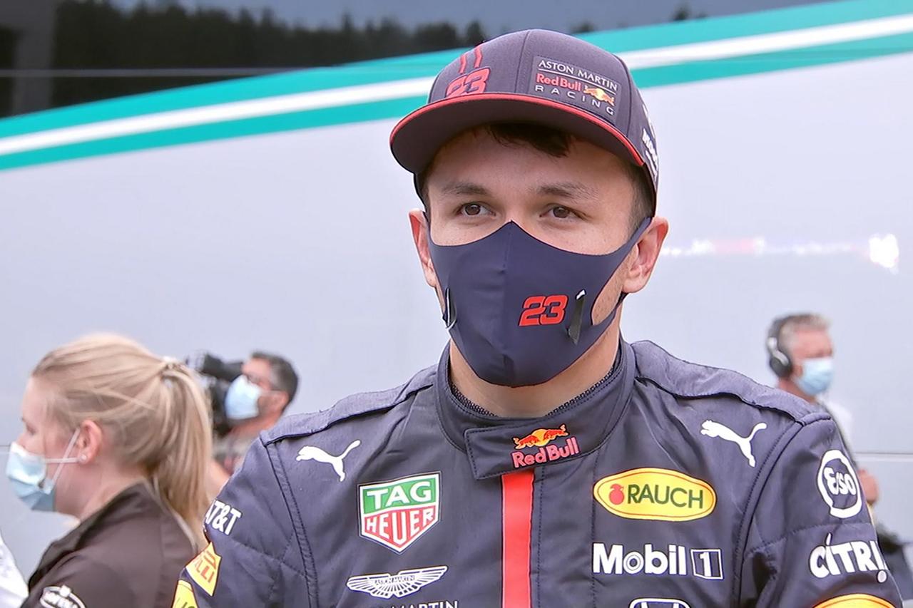 アレクサンダー・アルボン 「次戦もメルセデスに勝つのは難しい」 / レッドブル・ホンダF1 シュタイーマルクGP 決勝