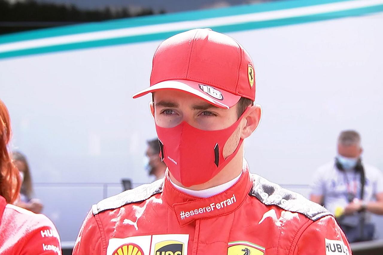 シャルル・ルクレール、同士討ちを謝罪 「全責任は僕にある」 / フェラーリF1 シュタイアーマルクGP 決勝