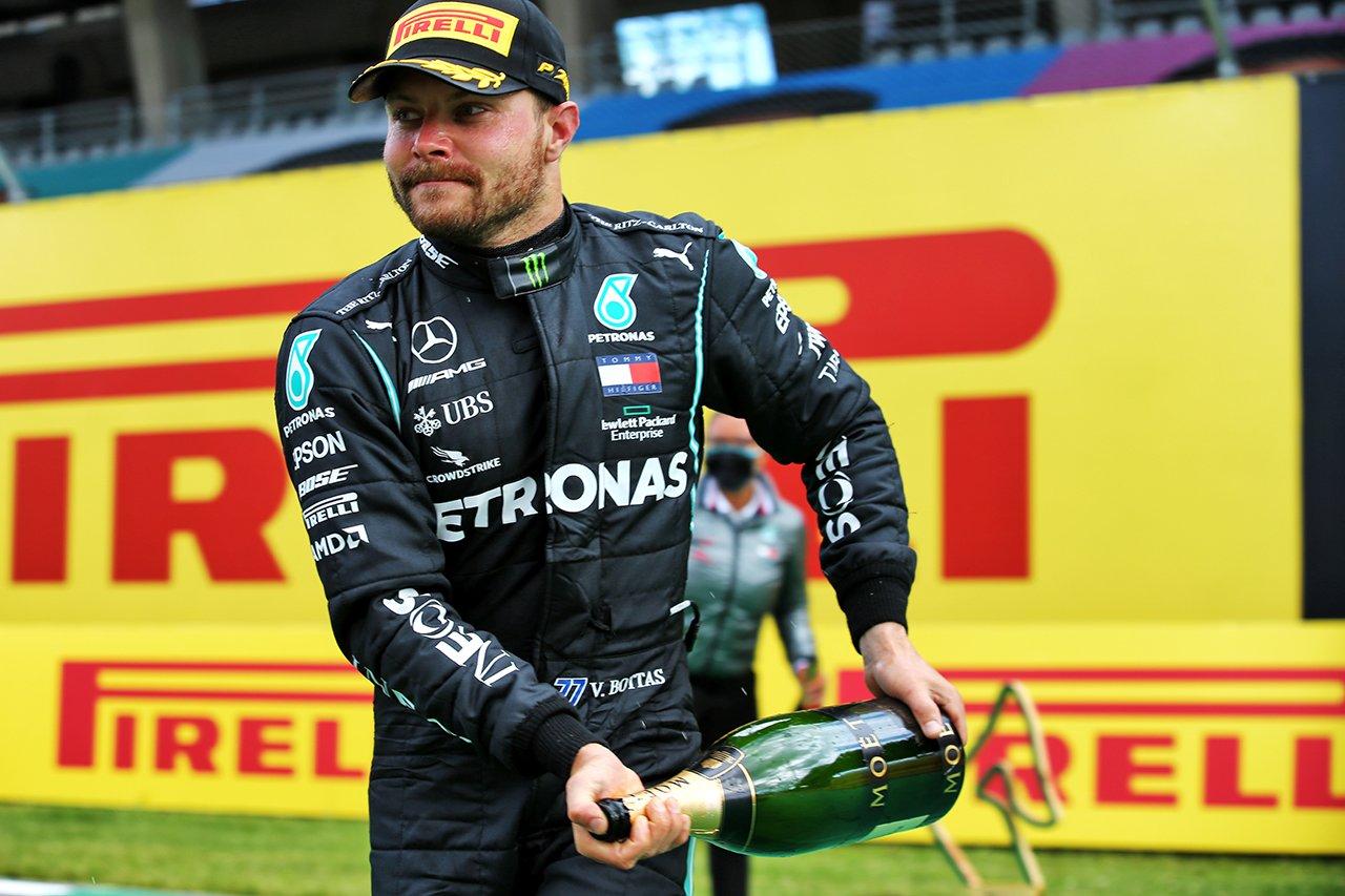 バルテリ・ボッタス、2位表彰台にも余裕「ダメージリミテーション」 / メルセデスF1 シュタイアーマルクGP 決勝