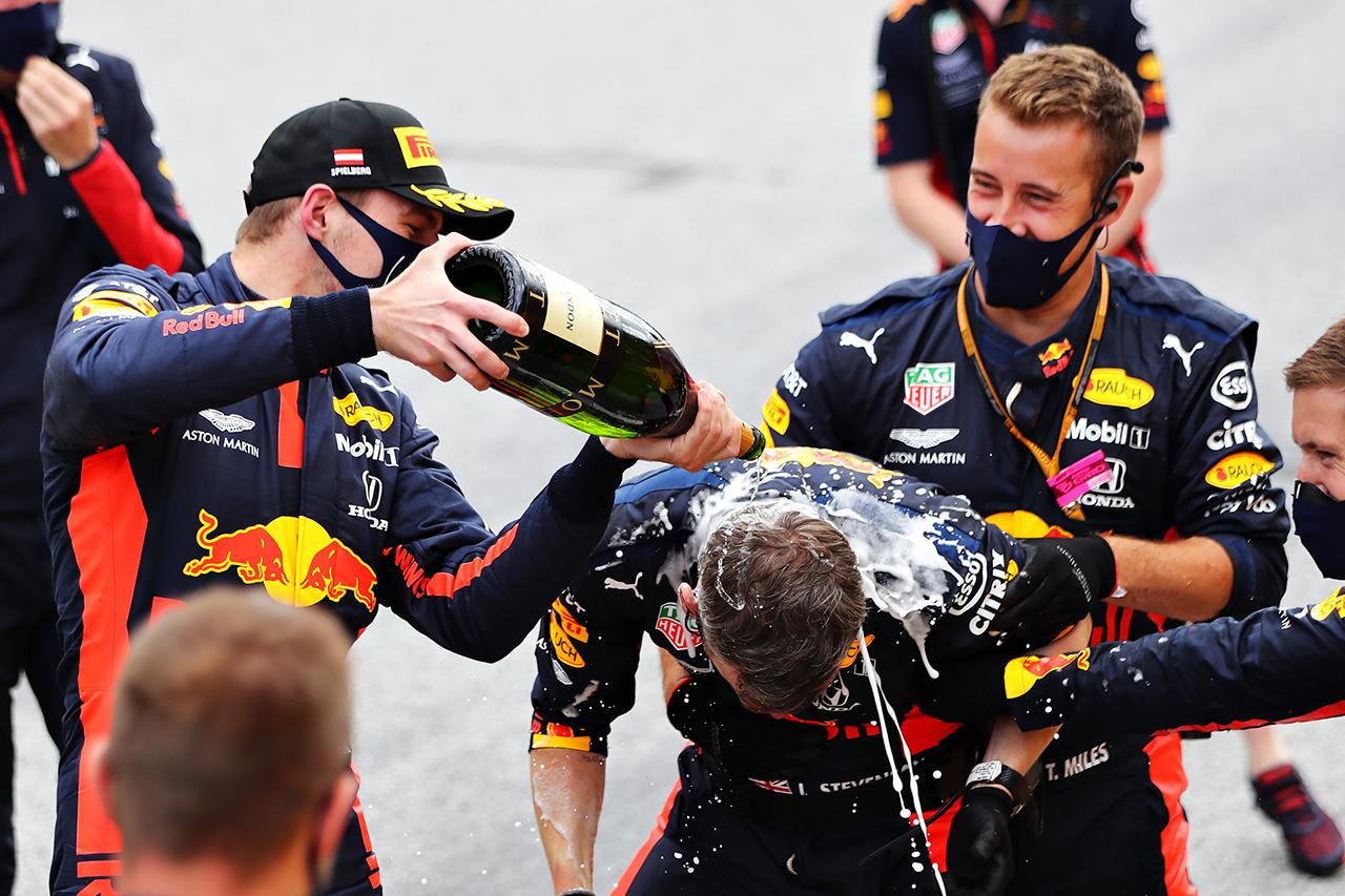 ホンダF1、3位表彰台を含めて3台が入賞 「前向きにとらえている」 / F1シュタイアーマルクGP 決勝