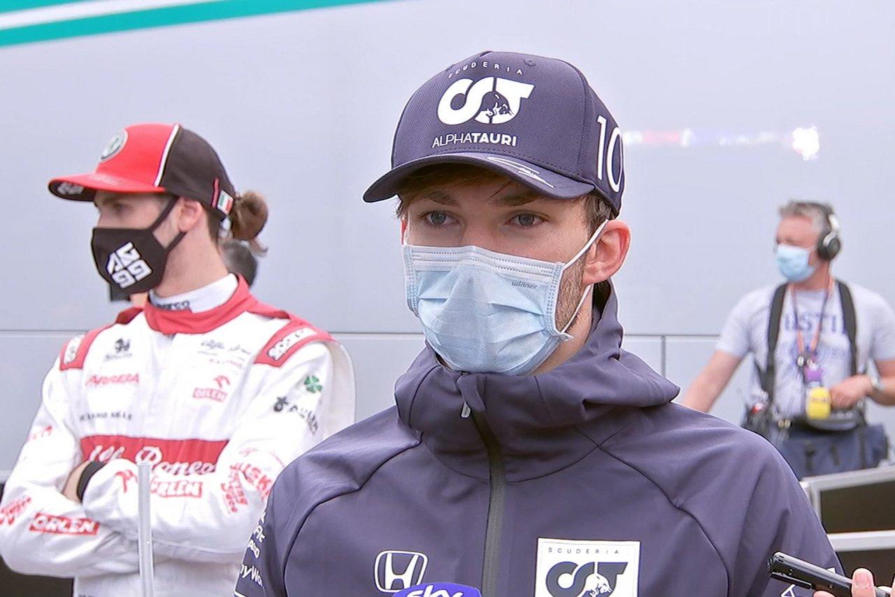ピエール・ガスリー 「スタートから躓いた。2トップ作戦も駄目だった」 / アルファタウリ・ホンダF1 シュタイアーマルクGP 決勝