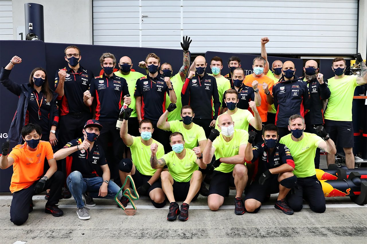 レッドブル・ホンダF1:第2戦 F1シュタイアーマルクGP 決勝レポート