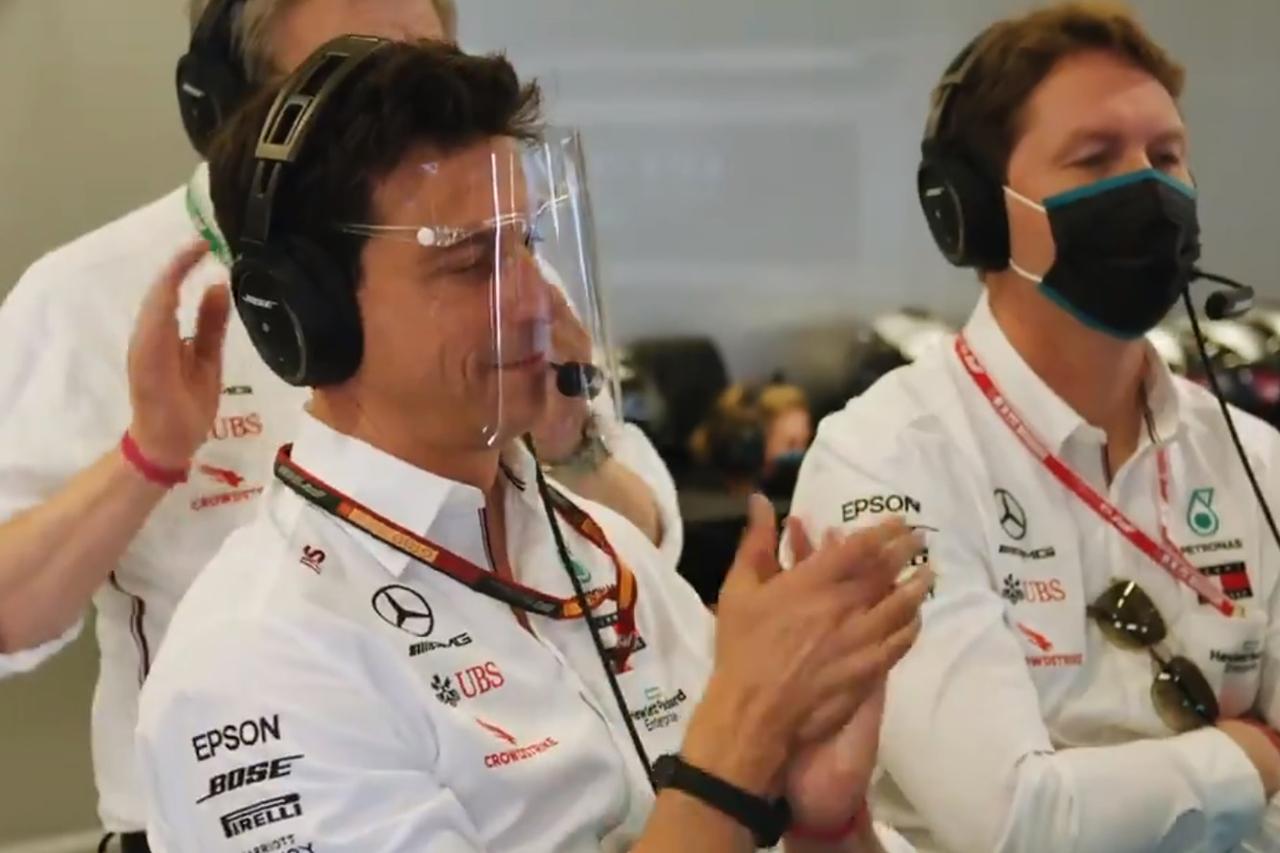 F1、トト・ヴォルフが着用していたフェイスシールドを禁止
