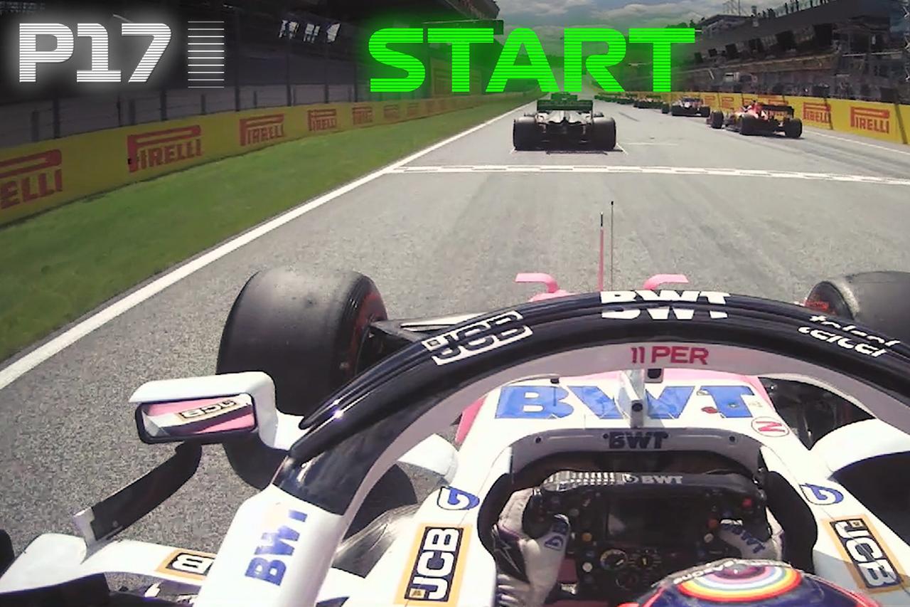 【動画】 セルジオ・ペレスのオーバーテイクショー / レーシング・ポイントF1 シュタイアーマルクGP