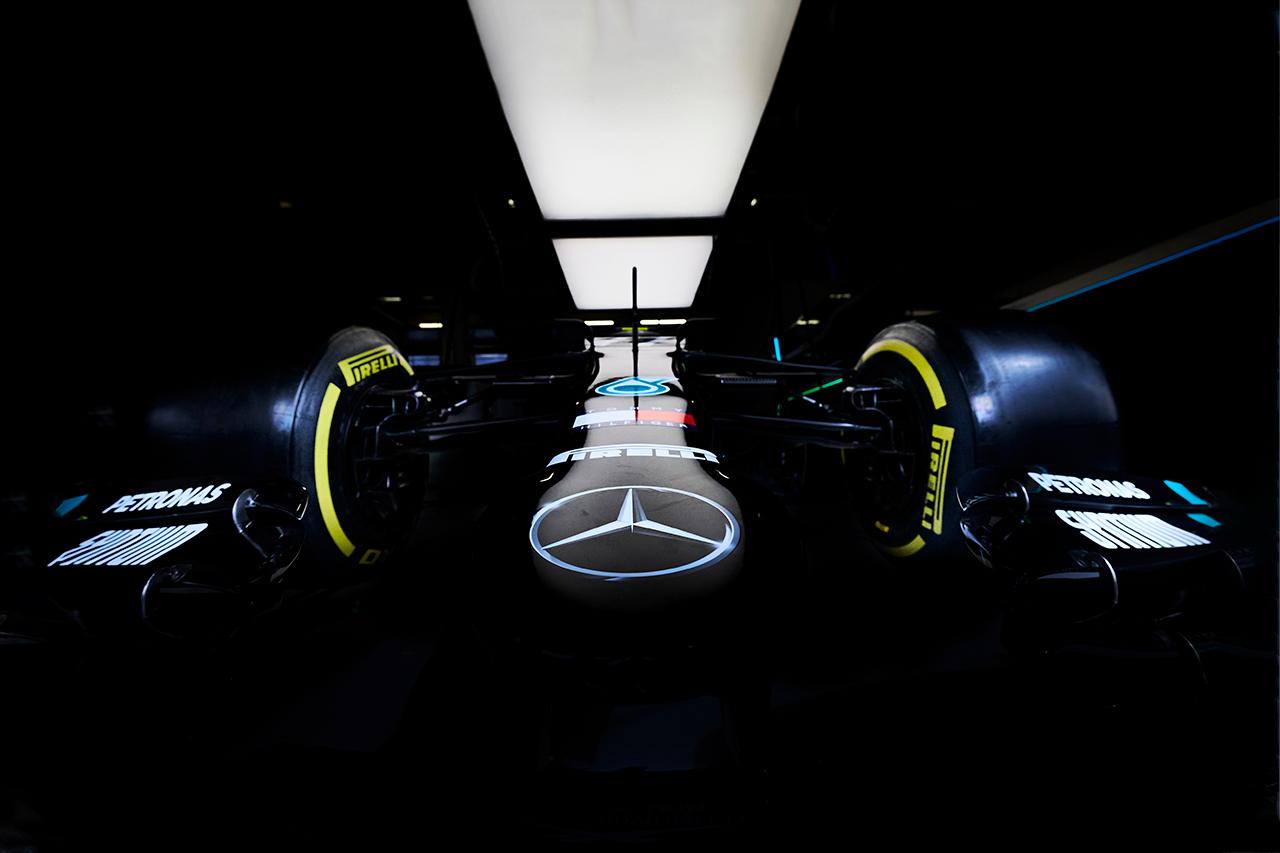メルセデスF1 「ブラックへのカラーリング変更は24時間で決定した」
