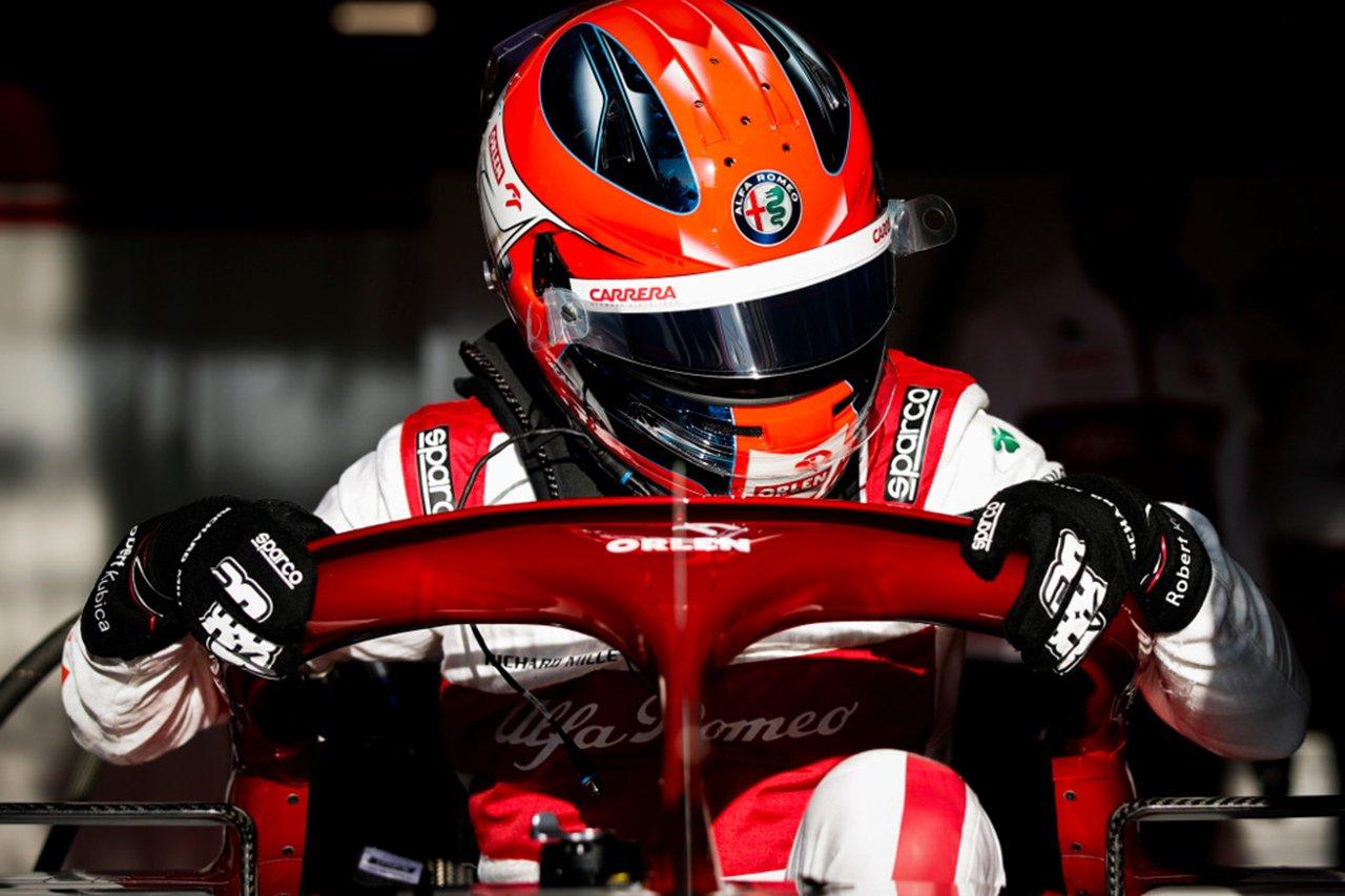 ロバート・クビサ、F1ハンガリーGPでもフリー走行1回目に出走 / アルファロメオF1