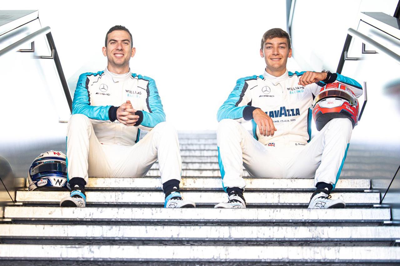 ウィリアムズF1、2021年もラッセル&ラティフィの続投が決定