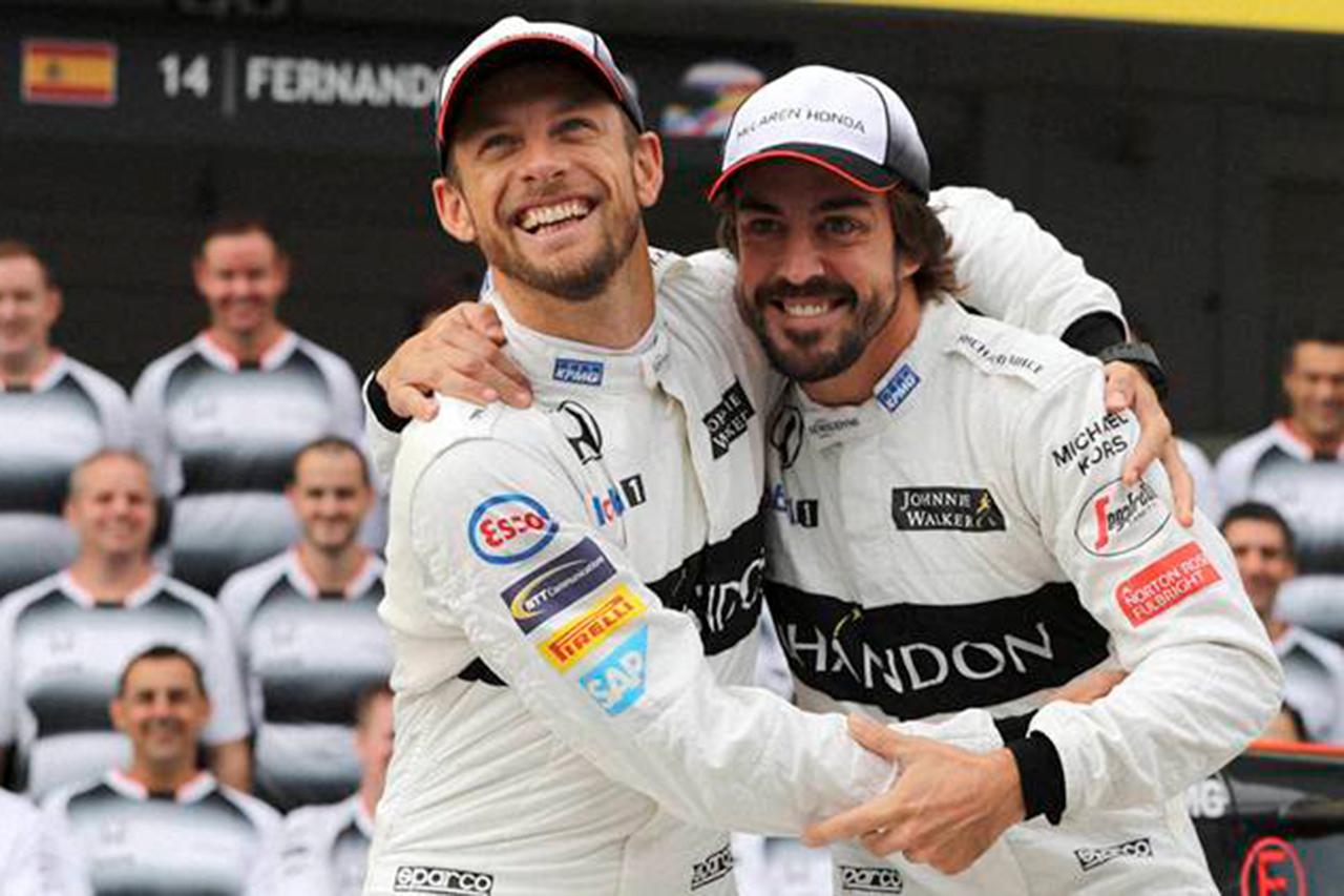 ジェンソン・バトン、ルノーF1の復活に期待 「強いアロンソが見たい」