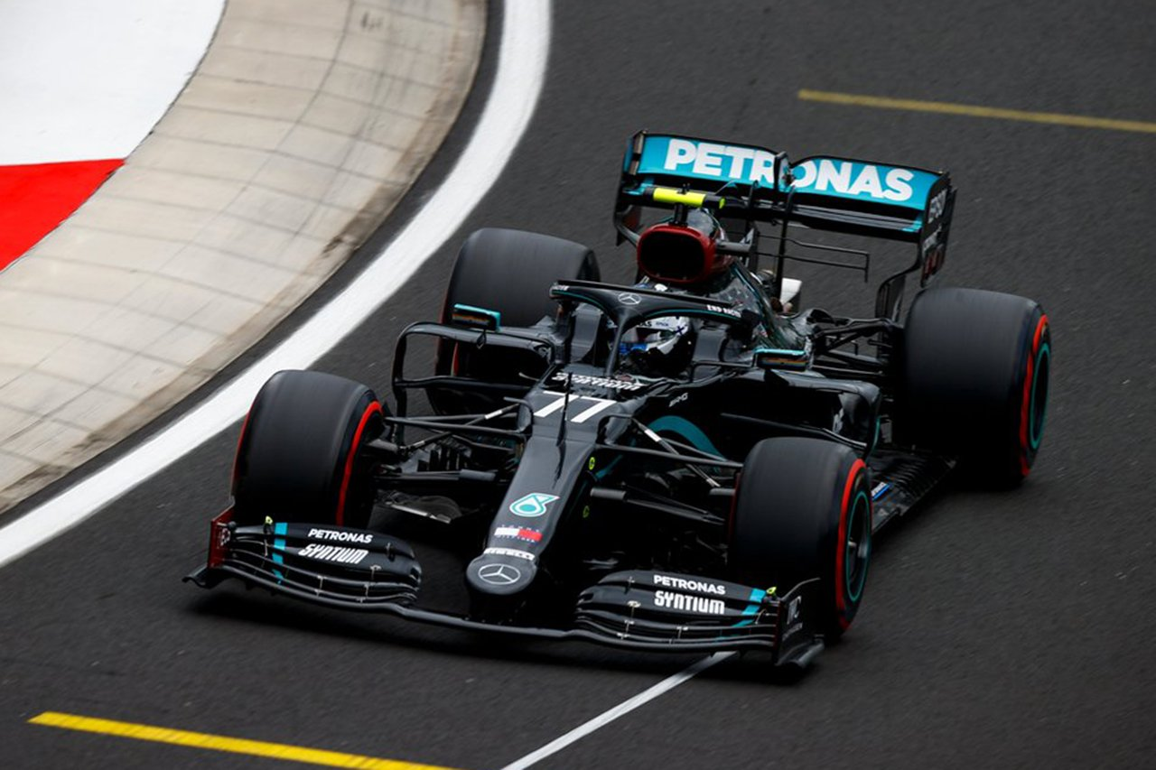 F1ハンガリーGP フリー走行3回目:メルセデスF1勢が盤石の1-2。レッドブル・ホンダのフェルスタッペンは6番手