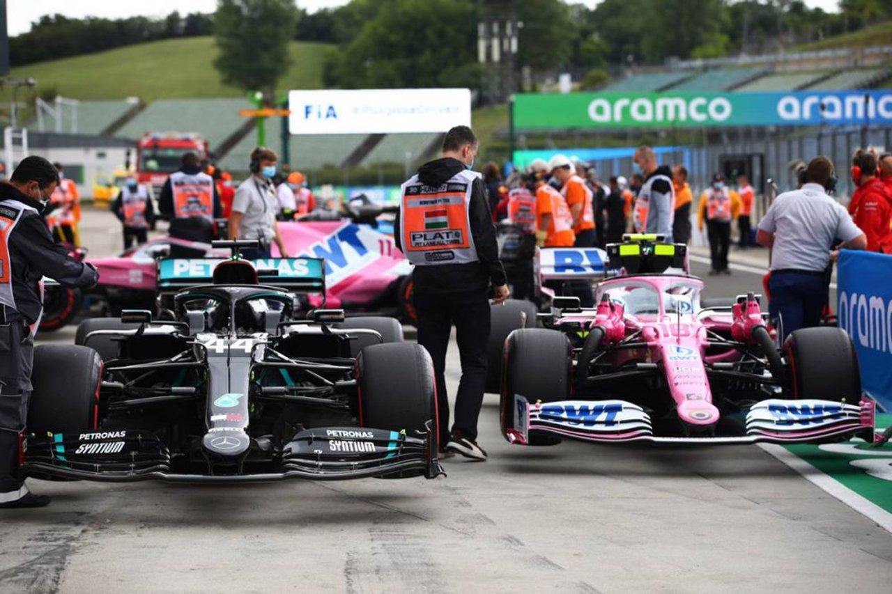 2020年 F1ハンガリーGP 決勝:スターティンググリッド