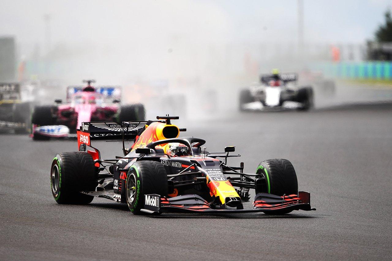 【速報】 F1ハンガリーGP 決勝 結果:フェルスタッペンが2位表彰台