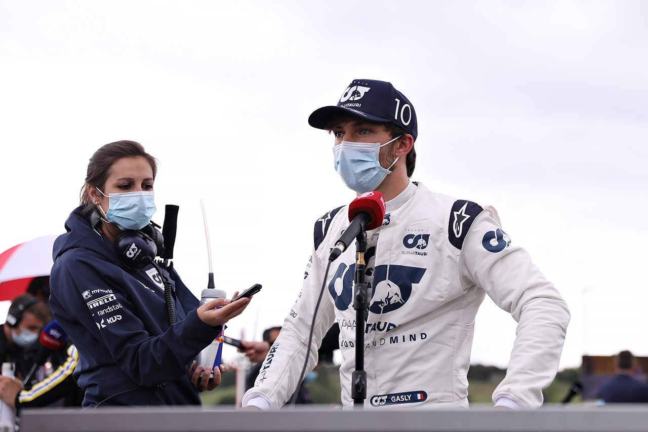 ピエール・ガスリー、今季2度目のQ3進出も「PUトラブルの影響が残念」 / アルファタウリ・ホンダF1 ハンガリーGP 予選
