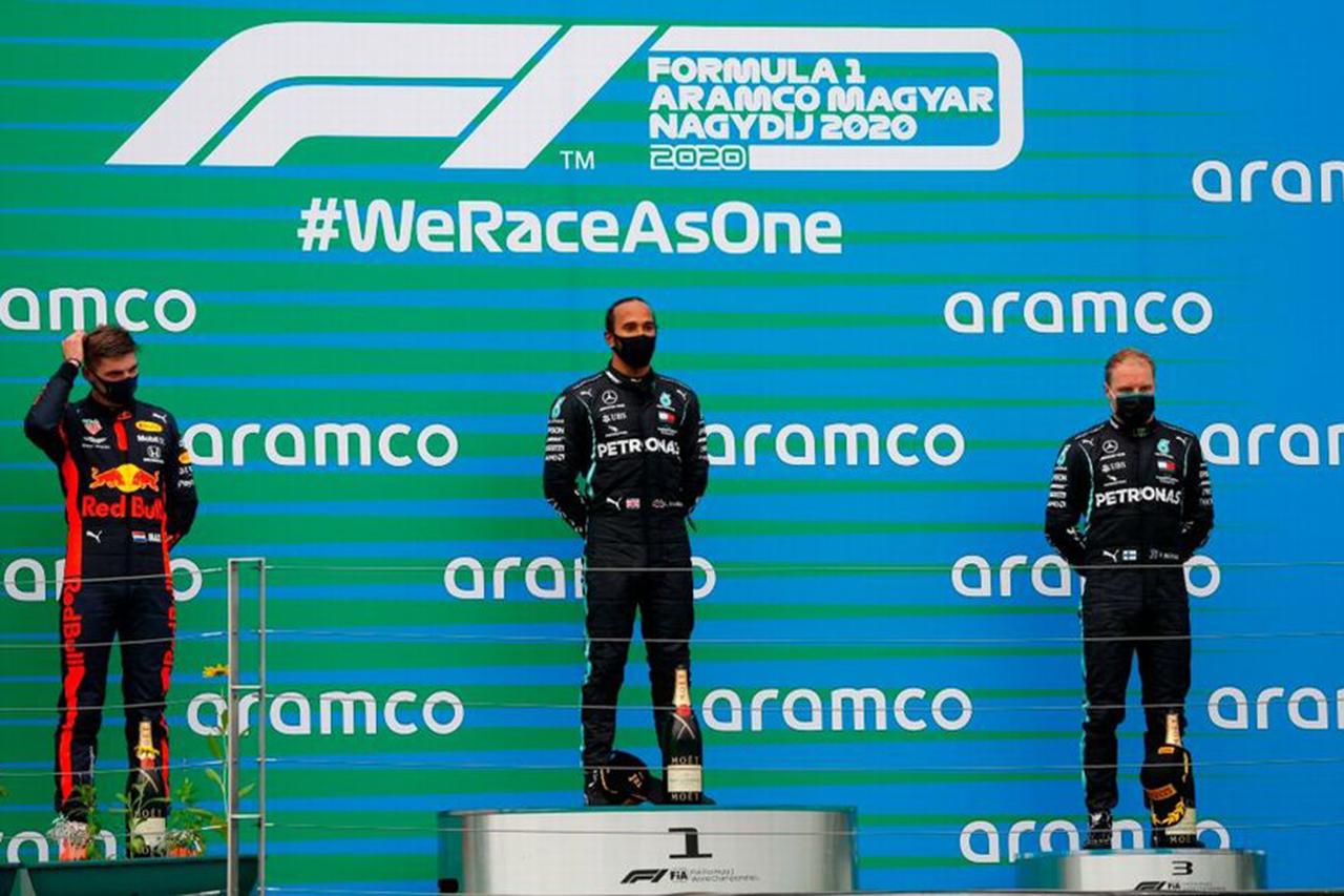 F1ハンガリーGP 決勝:トップ3ドライバーコメント
